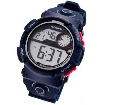 edb60ff46e6656 Wodoszczelny zegarek XONIX NT super dla aktywnych
