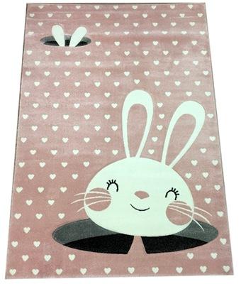 KOBEREC Deti šikovné Deti Bunny 160x230 Ruže