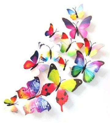 бабочки наклейки 3D на стену ??? - ПРИРОДА +подарки