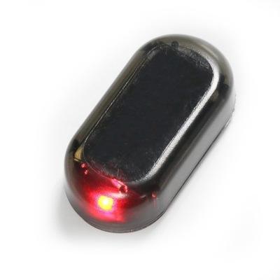 Atrapa ALARMU samochodowego Solar USB alarm led
