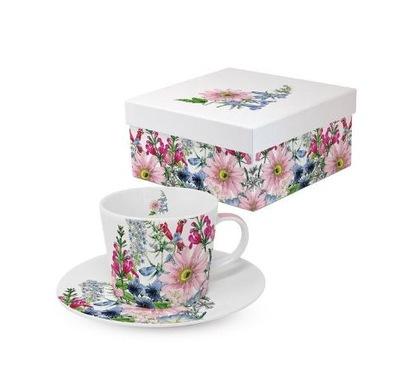 Filiżanka porcelanowa kwiaty espresso 100 ml PPD