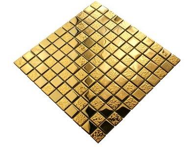 Мозаика стеклянная золота микс GOLD КЕРАМИСТ плитка