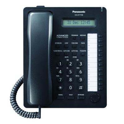 PANASONIC KX-AT7730 NASTĘPCA KX-T7730 CZARNE