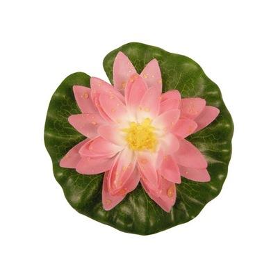 ЛИЛИЯ искусственная ПЕСТРАЯ БОЛЬШАЯ 20 СМ розовая