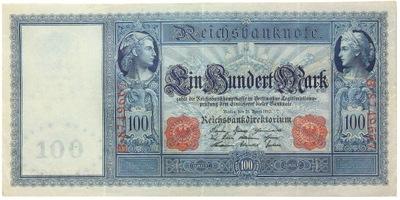 Германия - БАНКНОТЫ - 100 Марок 1910 - Ro: 43а