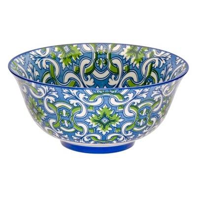 Ceramiczna misa miska miseczka niebieska 250ml 12'