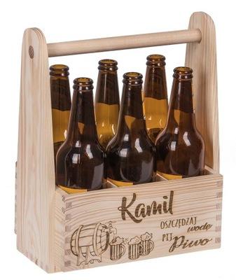 коробка пиво переноску подарок день рождения гравер !!