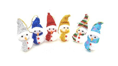 снеговик LED СВЕТИТ, включаясь снеговик ИЗМЕНИТСЯ ?? 14cm