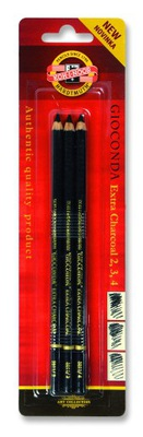 KOH-I-NOOR уголь в древесине 3 штук 8811