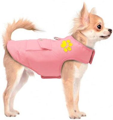куртка зимняя двусторонняя Одежда для маленькой собаки XS