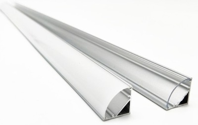 ПРОФИЛЬ лента LED Угловой угловой корнер-1м с быстрая
