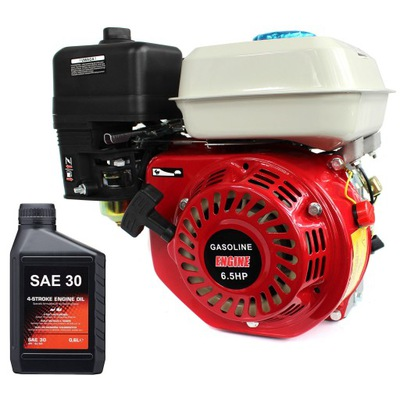 Двигатель внутреннего сгорания 4 -ВЫСОТА подъема ВАЛИК 19 мм 6 ,5КМ мега Мощность