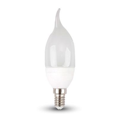 Żarówka LED 4W E14 Świeczka Płomyk 4000K 320lm