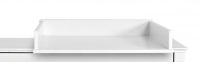 Novelies Bianka prebaľovací stôl na toaletný stolík biela