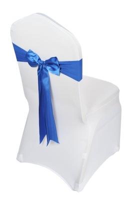 Opaska BEZ wiązania pokrowiec kokarda elastyczna