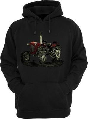 Bluza z kapturem URSUS c-325 z traktorem r. L