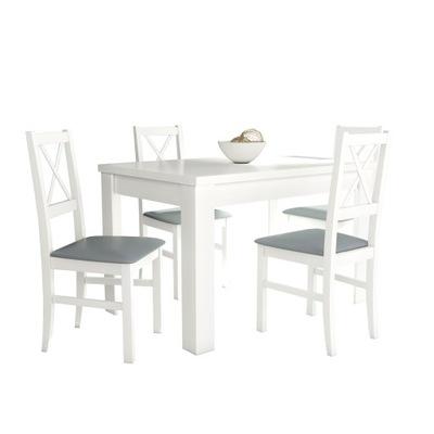 стол S -44 80x120/165 + 4 стулья НИЛО 10