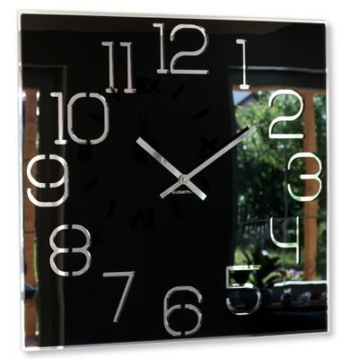 Большой современный часы instagram DIGIT 50см Черный