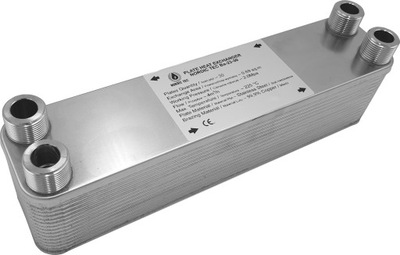 45kW výmenník tepla Nordic Tec 4x platne 3/4 '40