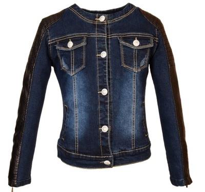 c4bf254364cf3 kurtka jeansowa 7-8 122 128 ZARA jesień - 7011696958 - oficjalne ...