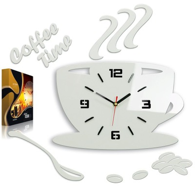 Кухня часы instagram чашка 3D УЛЬТРА-ТИХИЙ