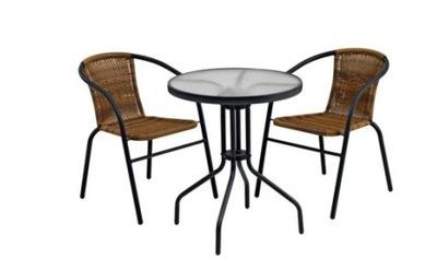 СТОЛИК + 2 стулья МЕБЕЛЬ садовое комплект комплект