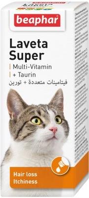 Beaphar kitty-milk, kitty-milk Laveta супер Бти. на шерсть для кошек, 50 мл