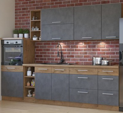 комплект мебели Кухня Шкафы Кухонные VIKI 3 МАТЕРА