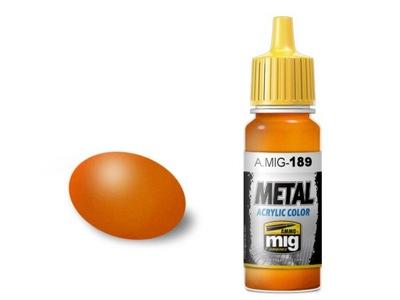 Farba akrylowa Metallic orange A.MIG189 AMMO