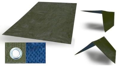 Tarp stan podlahy odolné ochranné jednotky 2x3 90 g .4