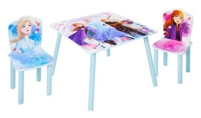 Дисней Земля Льда 2 стол СТОЛИК 2 стулья ДЕТЕЙ