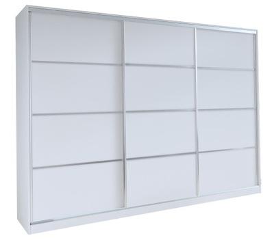 шкаф - купе ТОП-250СМ ящик белая