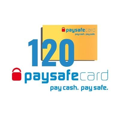 PaySafeCard 120 zł ( 100 + 20)