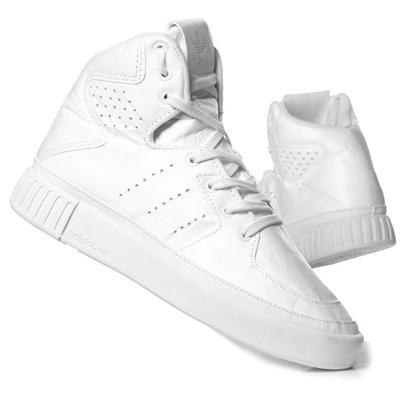 3d082de060c1f ADIDASY damskie białe wysokie sportowe rozm. 39 5933981961 - Allegro.pl