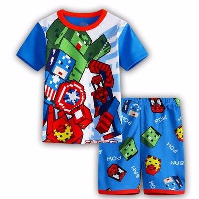 4f411c192 Piżama MINECRAFT 140 piżamka - 7636306699 - oficjalne archiwum allegro
