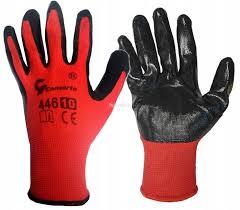 перчатки защитные OGUMOWANE РОБ. размер 10