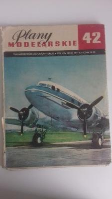 Планы для лепки 42 самолет Ли-2