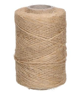 шнурок декоративный Эко - из джута натуральный , 140 М