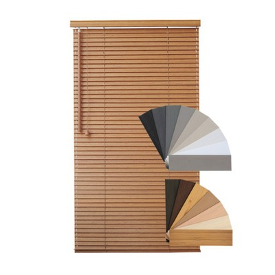 ŻALUZJE do kuchni,łazienki 25mm 50mm drewno bambus