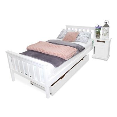 кровать ?????????? , сосновые ИЗА 90х200 белое МАССИВНАЯ