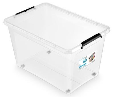 Pojemnik do przechowywania 60L SImpleBox z kółkami