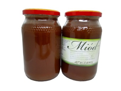 Мед гречка Яркая свежий Гречиха с Кашуб