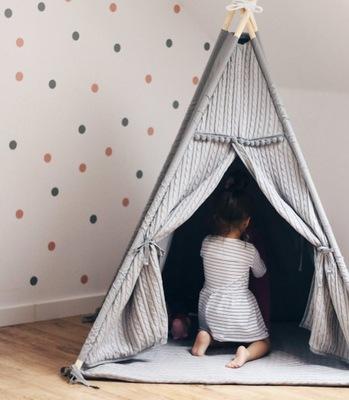 tipi – Серый палатка для номер ребенка без коврики