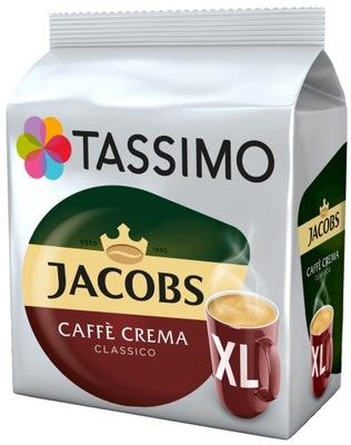 капсулы TASSIMO ДЖЕЙКОБС Caffe Crema Classico XL 16