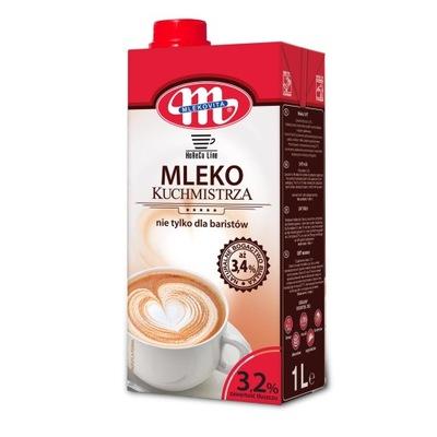 Молоко Kuchmistrza 3 ,2 % 1л .УВТ Mlekovita