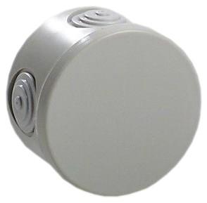 Puszka natynkowa LIGHT fi84x50 4xM25 IP54
