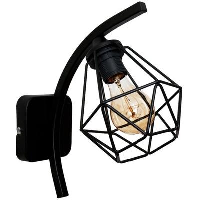 VEĽKÝ DIAMANT Nástenné svietidlo vintage podkrovie - možné LED