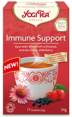 ???  имунитет Иммунодефицита ??? 17x1,8 Yogi Tea