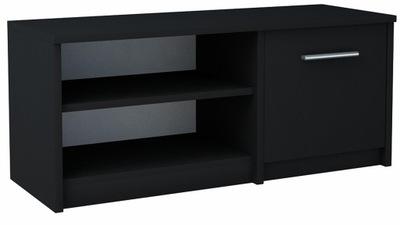 Шкаф столик RTV БОДО 1D 100 черная стеллаж комод