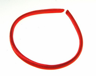 Lucy opaska czerwona powlekana nr 8 . 1,99 pln